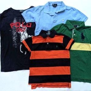 Polo Ralph Lauren Boys Shirt Top Tee Lot Fall 7